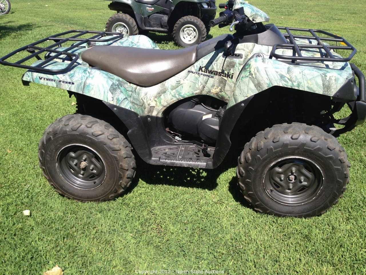 north state auctions auction motorcycle extravaganza item 2006 kawasaki brute force 750 v twin. Black Bedroom Furniture Sets. Home Design Ideas