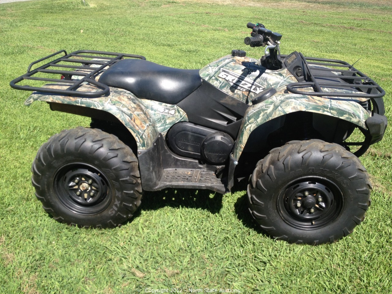 North state auctions auction motorcycle extravaganza for 2009 yamaha grizzly 450 value