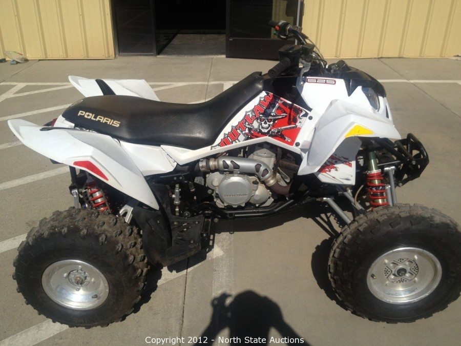 2007 Polaris Outlaw 525 For Sale >> North State Auctions - Auction: ATV, UTV, Motorcycle, Dual Sport, Powersports Auction ITEM: 2008 ...