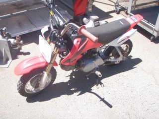 2007 Honda CRF50F Motorcycle