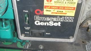 6.5 KW Onan Generator