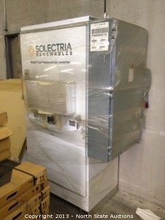 Solectria Renewables Inverter PVI 60 KW