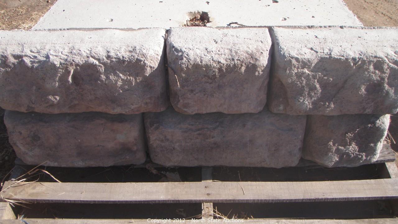 North State Auctions Auction Redi Block Redi Rock