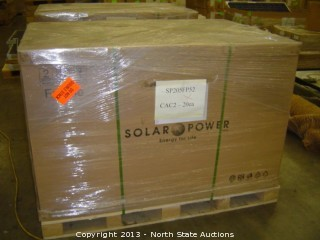 Approx 20 Solar Power Inc. Solar Module Panels, 205 Watt