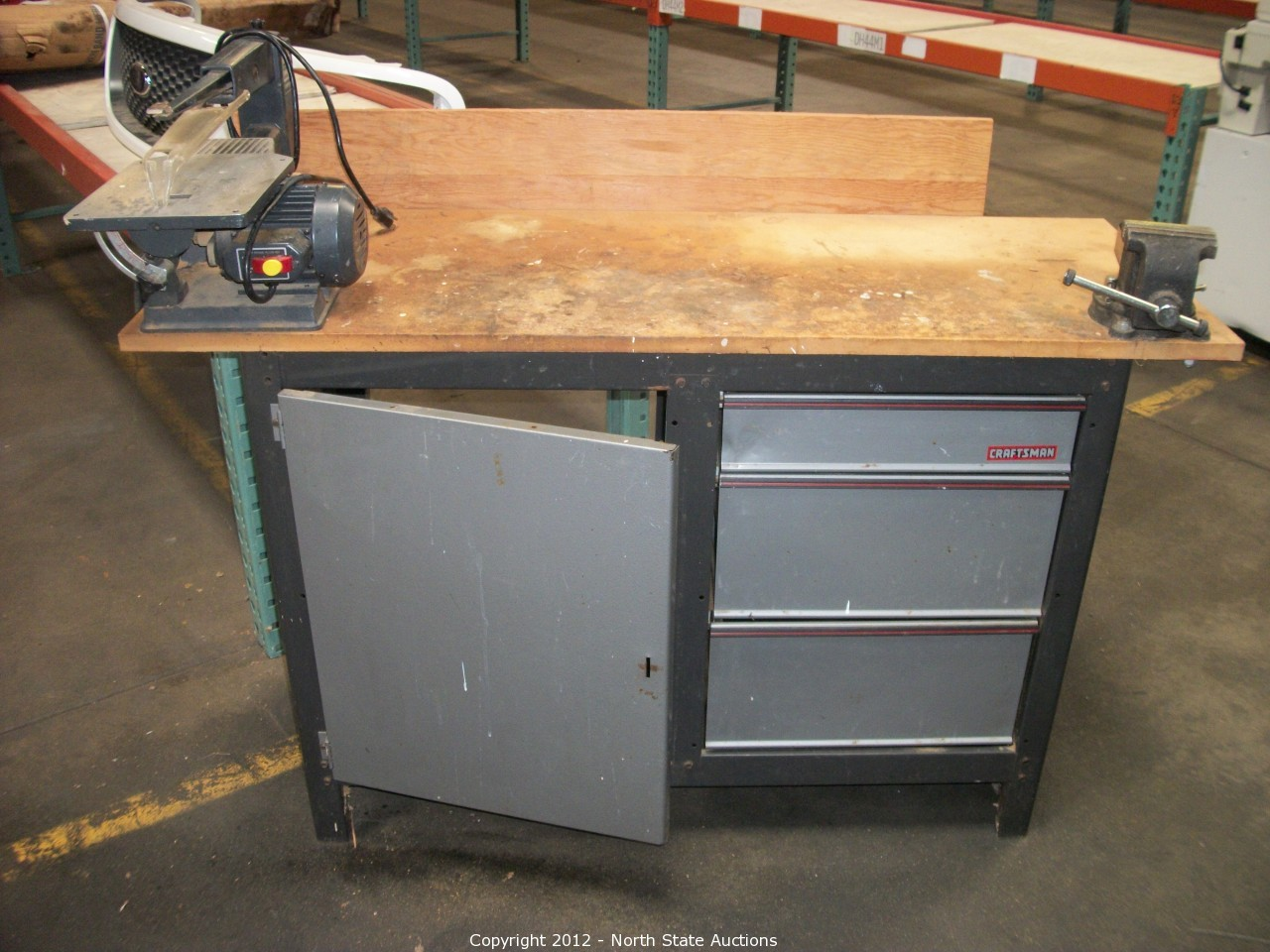 Craftsman Work Bench North State Auctions Auction Mid