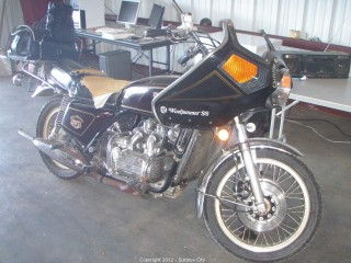 1976 Honda Goldwing Motorcycle